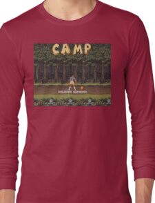 Camp: Bonfire Long Sleeve T-Shirt