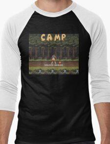 Camp: Bonfire Men's Baseball ¾ T-Shirt