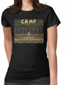 Camp: Bonfire Womens Fitted T-Shirt