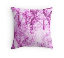 Abstract 10c Throw Pillow