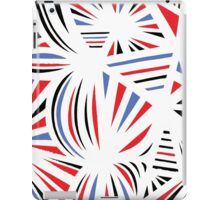 Saeteun Abstract Expression Red Blue iPad Case/Skin