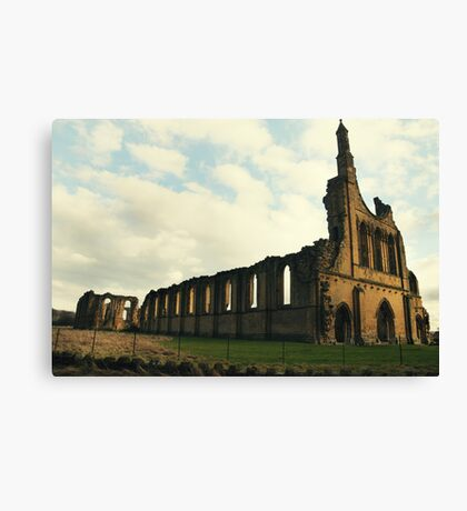 Abbey North Yorkshire Canvas Print