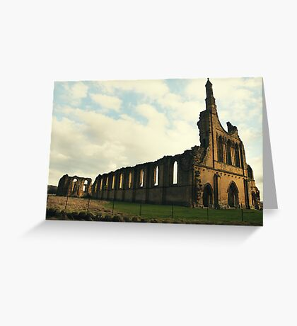 Abbey North Yorkshire Greeting Card