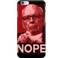 "Murdoch ""Nope"" Pop-Art iPhone Case/Skin"
