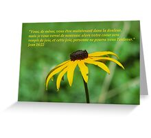 Jean 16:22 fr2 Greeting Card