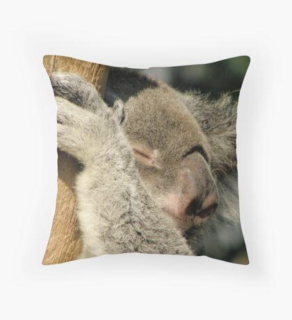 Fast asleep. Throw Pillow