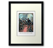 Grant At The Capture Of The City Of Mexico Framed Print