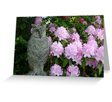 'ow lovely! Greeting Card