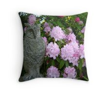 'ow lovely! Throw Pillow