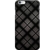 Gray Plaid iPhone Case/Skin