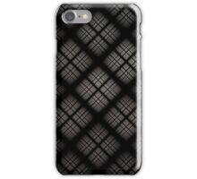 Gray Plaid iPhone Case/Skin
