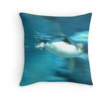 Full Speed Ahead! Throw Pillow
