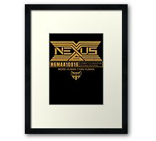 Tyrell Corporation NEXUS Framed Print