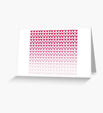 Crimson Scale Greeting Card