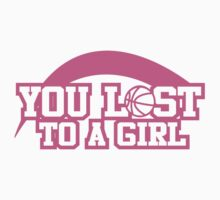 Women's basketball T-shirt by YouLosttoaGirl
