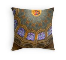 Church Interior 4 Throw Pillow