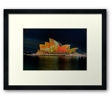 Psychedelic Dreaming - Vivid Sydney Festival - The HDR Experience Framed Print
