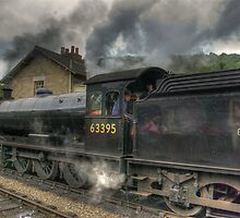 No: 63395 Steam Train by Trevor Kersley