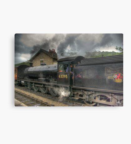 No: 63395 Steam Train Metal Print
