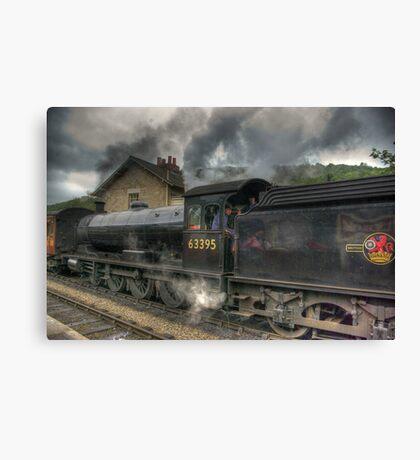 No: 63395 Steam Train Canvas Print