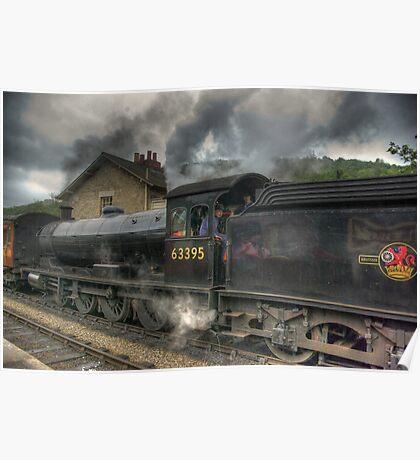 No: 63395 Steam Train Poster