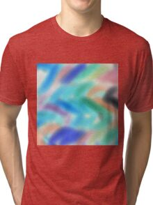 Color Wave Tri-blend T-Shirt