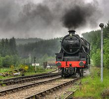 No.45407 'The Lancashire Fusilier' by Trevor Kersley