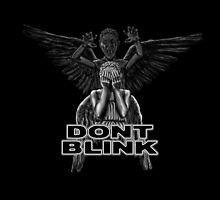 Doctor Who - Weeping Angels - Don't Blink by BovaArt