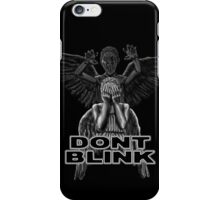Doctor Who - Weeping Angels - Don't Blink iPhone Case/Skin