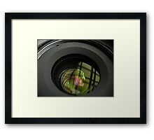 The Lens Framed Print