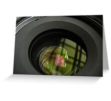 The Lens Greeting Card