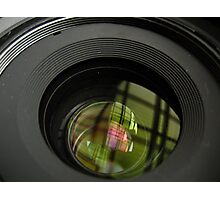 The Lens Photographic Print