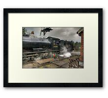 No.63395 On The Road Crossing Framed Print
