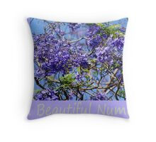 35 Is a Beautiful Number Throw Pillow