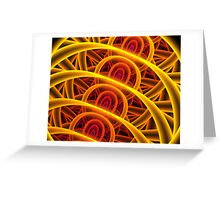 Fractal Fibers Greeting Card