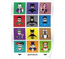 Batman Gotham Heroes & Villains Poster