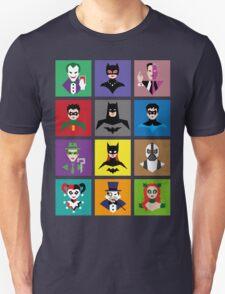 Batman Gotham Heroes & Villains T-Shirt