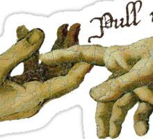 Pull My Finger Sticker