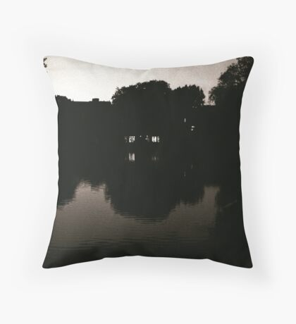Leiden At Dusk IX Throw Pillow
