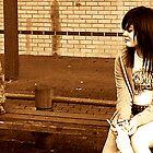 the loners bench.. by Christina Parapadakis