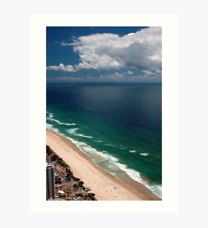 Q1 View © Surfers Paradise Art Print