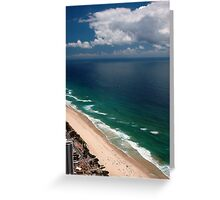 Q1 View © Surfers Paradise Greeting Card