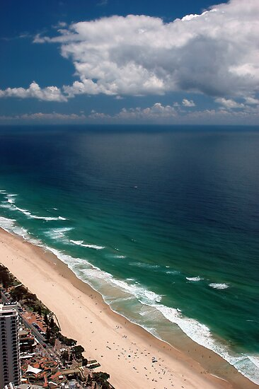 Q1 View © Surfers Paradise by Vicki Ferrari