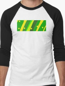 Fresh Green Men's Baseball ¾ T-Shirt