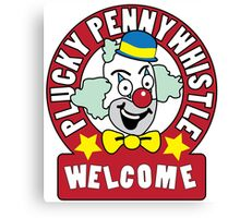 Plucky Pennywhistle's Magical Menagerie Canvas Print