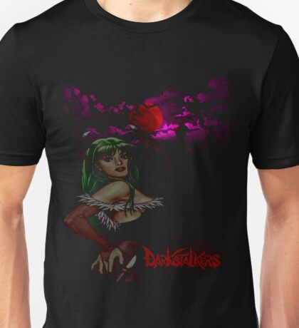Morrigan of the Darkstalkers Unisex T-Shirt