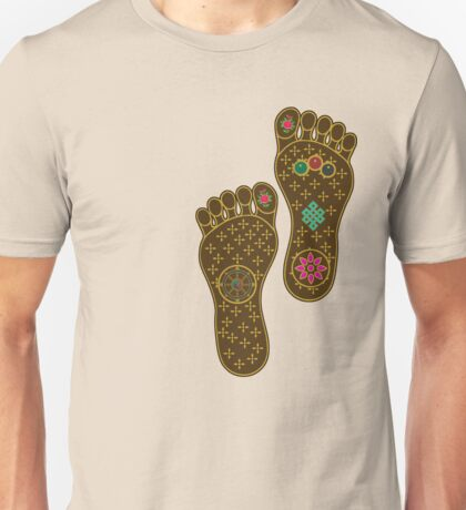 Footprints of the Buddha Unisex T-Shirt