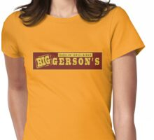 BIGGERSON's Womens Fitted T-Shirt