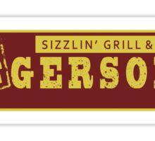 BIGGERSON's Sticker