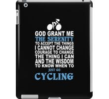 Limited Edition Funny Cycling Tshirts iPad Case/Skin